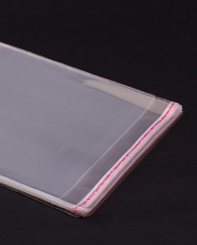 Clear PP Adhesive Bag